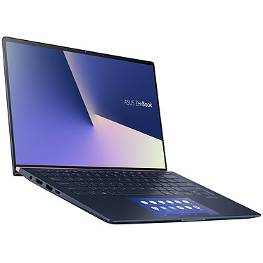 "ASUS Zenbook 14 UX434FL-AI300T avec ScreenPad 2.0 Intel Core i5-10210U 8 Go Intel Optane 32 Go + SSD 512 Go 14"" LED Tactile Full HD NVIDIA GeForce MX250 Wi-Fi AX/Bluetooth Webcam Windows 10 Famille 64 bits"