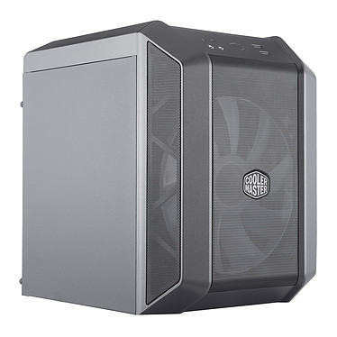 Enfriador MasterBox H100 Caja compacta Mini torre de color negro