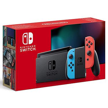 Nintendo Switch v2 + Joy-Con derecha (rojo) e izquierda (azul) Consola de videojuegos híbrida para salón / portátil
