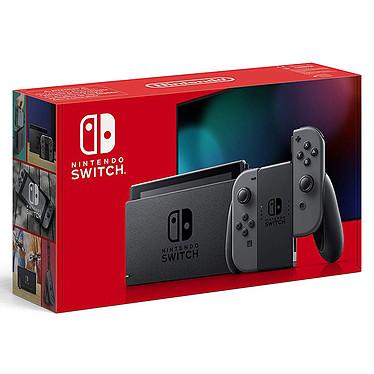 Nintendo Switch v2 + Joy-Con droit et gauche (gris) Console hybride salon / portable