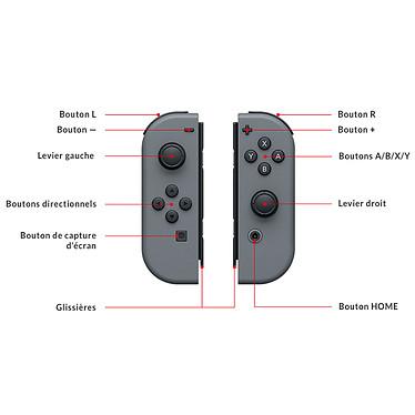 Avis Nintendo Switch v2 + Joy-Con droit et gauche (gris)