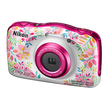 Avis Nikon Coolpix W150 Fleur + Sac à dos