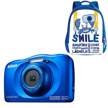 Nikon Coolpix W150 Bleu + Sac à dos