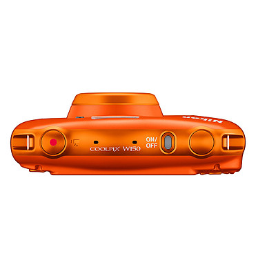 Acheter Nikon Coolpix W150 Orange + Sac à dos