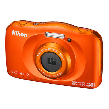Avis Nikon Coolpix W150 Orange + Sac à dos