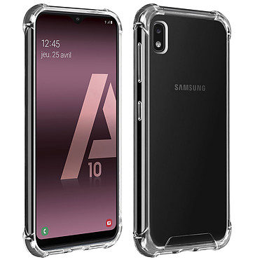 Akashi Coque TPU Angles Renforcés Samsung Galaxy A10 Coque de protection transparente avec angles renforcés pour Samsung Galaxy A10