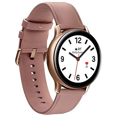 Avis Samsung Galaxy Watch Active 2 4G (40 mm / Acier / Rose Lumière)