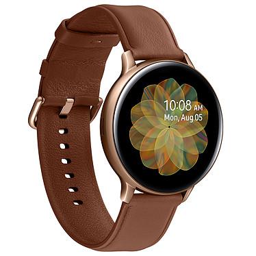 Avis Samsung Galaxy Watch Active 2 4G (44 mm / Acier / Or)