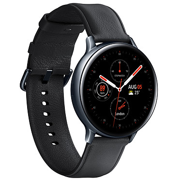 Avis Samsung Galaxy Watch Active 2 4G (44 mm / Acier / Noir Diamant)