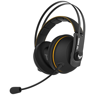ASUS TUF Gaming H7 (Jaune) Casque-micro filaire pour gamer (compatible PC / Mac / PlayStation 4 / Xbox One / Nintendo Switch)