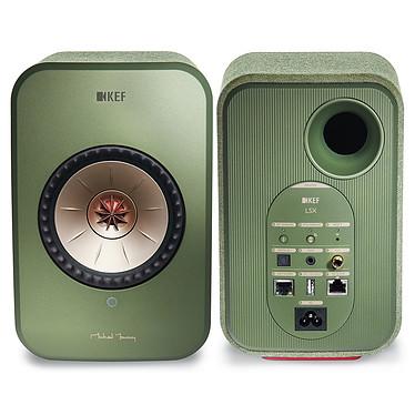 Yamaha MusicCast VINYL 500 Noir + KEF LSX Wireless Vert pas cher