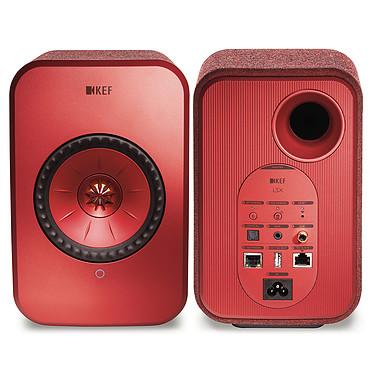 Yamaha MusicCast VINYL 500 Noir + KEF LSX Wireless Rouge pas cher