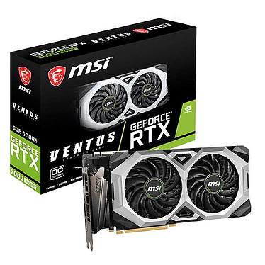 MSI GeForce RTX 2080 SUPER VENTUS XS OC 8 Go GDDR6 - HDMI/Tri DisplayPort - PCI Express (NVIDIA GeForce RTX 2080 SUPER)
