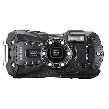 Ricoh WG-60 Noir Appareil photo baroudeur 16 MP - Zoom optique grand-angle 5x - Vidéo Full HD - Étanche 14 m - Compatible FlashAir
