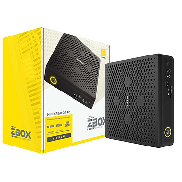 ZOTAC ZBOX MAGNUS EN52060V Intel Core i5-9300H GeForce RTX 2060 Wi-Fi 6 / Bluetooth 5 (sans écran/mémoire/disque dur)