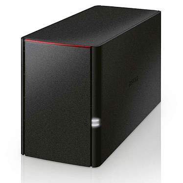Buffalo LinkStation 220DR 4 To Serveur NAS 2 baies (2 x 2 To) avec disques durs Western Digital WD Red
