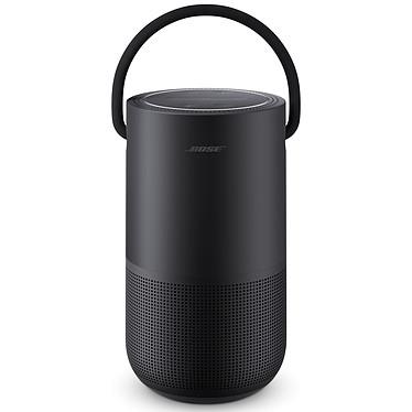 Bose Portable Home Speaker Noir Enceinte portable sans fil - Wi-Fi/Bluetooth/AirPlay 2 - Etanche (IPX4) - 12 h d'autonomie - Google Assistant / Amazon Alexa
