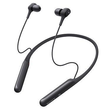 Sony WI-C600N Noir Écouteurs intra-auriculaires fermés sans fil - Réduction de bruit active - Bluetooth/NFC - Autonomie 7h30 - Charge rapide - Commandes/Micro