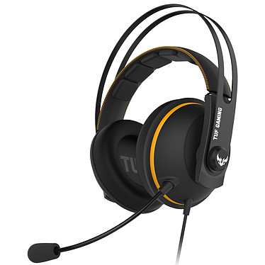 ASUS TUF Gaming H7 Core (Jaune) Casque-micro filaire pour gamer (compatible PC / Mac / PlayStation 4 / Xbox One / Nintendo Switch)