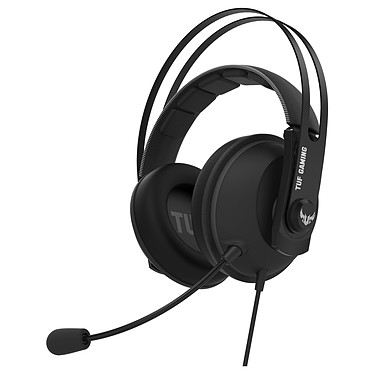 ASUS TUF Gaming H7 Core (Gris) Casque-micro filaire pour gamer (compatible PC / Mac / PlayStation 4 / Xbox One / Nitendo Switch)