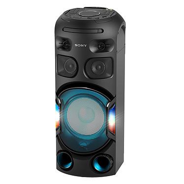 Sony MHC-V42D Altavoz Bluetooth para fiestas, efectos de luz, micrófono/jack de guitarra, reproductor de CD/DVD, USB/HDMI