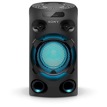 Sony MHC-V02 Enceinte de fête Bluetooth, effets lumineux, prise micro/guitare, lecteur CD, USB