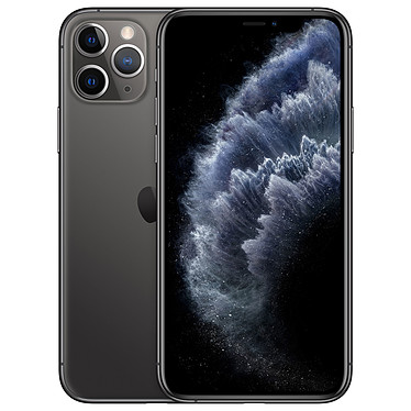 "Apple iPhone 11 Pro 256 Go Gris Sidéral Smartphone 4G-LTE Advanced IP68 Dual SIM - Apple A13 Bionic Hexa-Core - RAM 6 Go - Ecran 5.8"" 1125 x 2436 - 256 Go - NFC/Bluetooth 5.0 - iOS 13"
