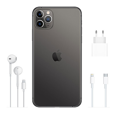Comprar Apple iPhone 11 Pro Max 256GB Gris lateral