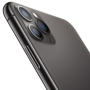 Opiniones sobre Apple iPhone 11 Pro Max 256GB Gris lateral