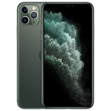 "Apple iPhone 11 Pro Max 256 Go Vert Smartphone 4G-LTE Advanced IP68 Dual SIM - Apple A13 Bionic Hexa-Core - RAM 6 Go - Ecran 6.5"" 1242 x 2688 - 256 Go - NFC/Bluetooth 5.0 - iOS 13"