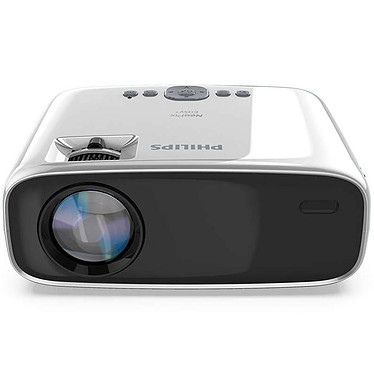Philips NeoPix Easy+ Vidéoprojecteur LED 3LCD - 800 x 480 pixels - 2600 Lumens - Wi-Fi/Bluetooth - HDMI/VGA/USB - Haut-parleurs intégrés