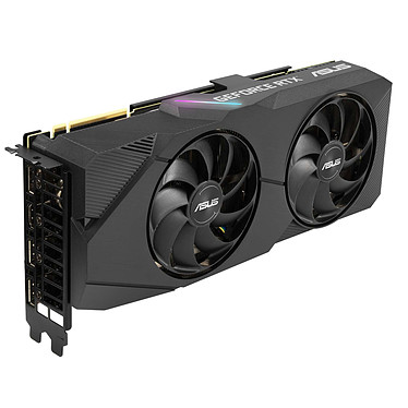 ASUS GeForce RTX 2080 SUPER DUAL-RTX2080S-8G-EVO 8 GB GDDR6 - HDMI/Tri DisplayPort - PCI Express (NVIDIA GeForce RTX 2080 SUPER)