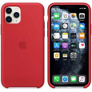 Apple Funda de silicona (PRODUCTO)RED Apple iPhone 11 Pro Funda de silicona para Apple iPhone 11 Pro