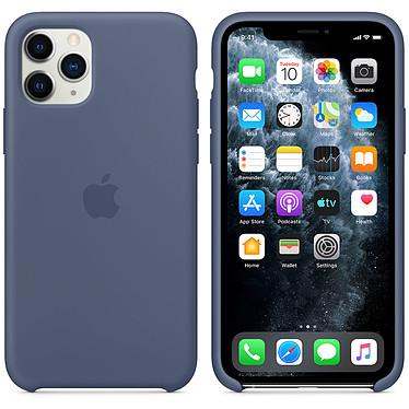 Apple Funda de silicona Alaska Blue Apple iPhone 11 Pro Funda de silicona para Apple iPhone 11 Pro
