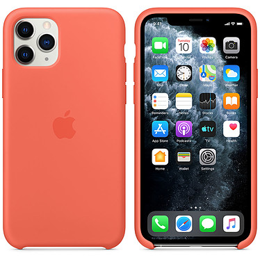 Apple Funda de silicona Clementine Apple iPhone 11 Pro Funda de silicona para Apple iPhone 11 Pro