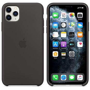 Apple Funda de silicona negra Apple iPhone 11 Pro Max
