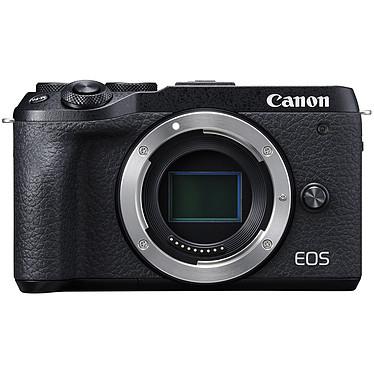 "Canon EOS M6 Mark II Noir Appareil photo 32.5 MP - ISO 25600 - Vidéo 4K UHD - Ecran LCD 3"" tactile et inclinable - Wi-Fi/Bluetooth (boîtier nu)"