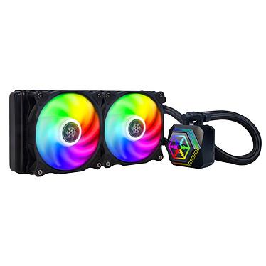 SilverStone PF240-ARGB Kit de Watercooling pour processeur avec éclairage RGB