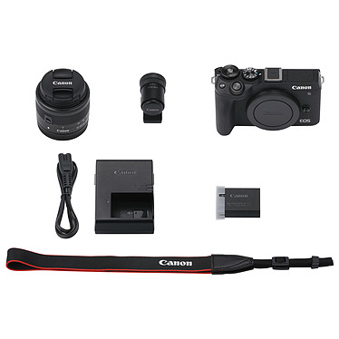 Acheter Canon EOS M6 Mark II Noir + 15-45mm + Viseur