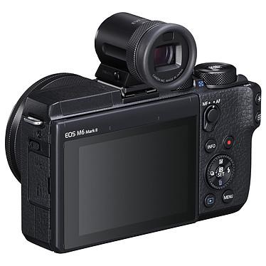 Avis Canon EOS M6 Mark II Noir + 15-45mm + Viseur