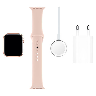 Acheter Apple Watch Series 5 GPS + Cellular Aluminium Or Bracelet Sport Rose des Sables 44 mm