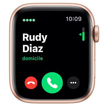 Avis Apple Watch Series 5 GPS + Cellular Aluminium Or Bracelet Sport Rose des Sables 44 mm