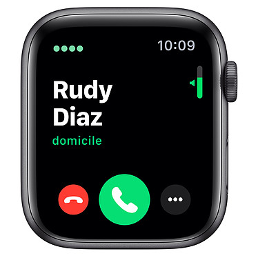 Avis Apple Watch Series 5 GPS + Cellular Aluminium Gris Sidéral Bracelet Sport Noir 44 mm