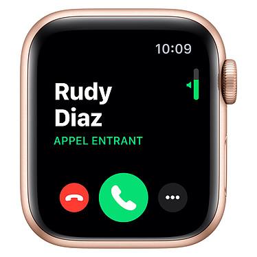 Avis Apple Watch Series 5 GPS Aluminium Or Bracelet Sport Rose des Sables 40 mm