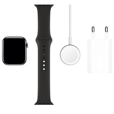 Comprar Apple Watch Series 5 GPS + Cellular Acero negro Pulsera deportiva Negra 44 mm