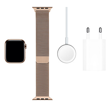 Comprar Apple Watch Series 5 GPS + Cellular Acero Oro Pulsera Milanesa Oro 40 mm
