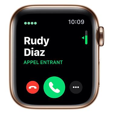 Opiniones sobre Apple Watch Series 5 GPS + Cellular Acero Oro Pulsera Milanesa Oro 40 mm
