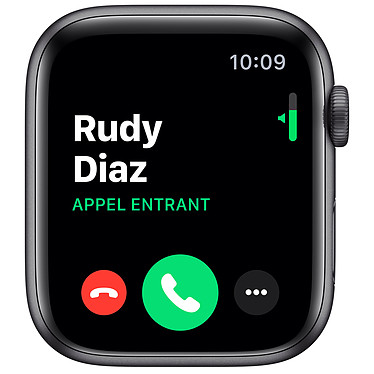 Avis Apple Watch Series 5 Nike GPS Aluminium Gris Sidéral Bracelet Sport Noir 44 mm