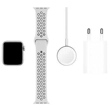 Comprar Apple Watch Series 5 Nike GPS + Cellular Aluminio Plato Pulsera deportiva Puro Platino/Negro 40 mm