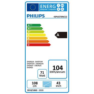 Acheter Philips 43PUS7394